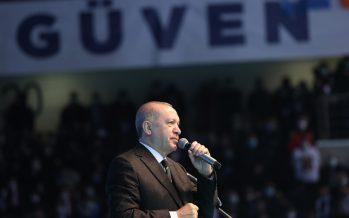 """Cumhurbaşkanı Erdoğan, """"21. yüzyılı ve ötesini kuşatacak büyük ve güçlü Türkiye'yi inşa ediyoruz"""""""