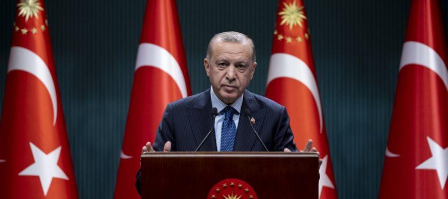 """Cumhurbaşkanı Erdoğan, """"Bugün itibarıyla yeni kontrollü normalleşme sürecini başlatıyoruz"""""""