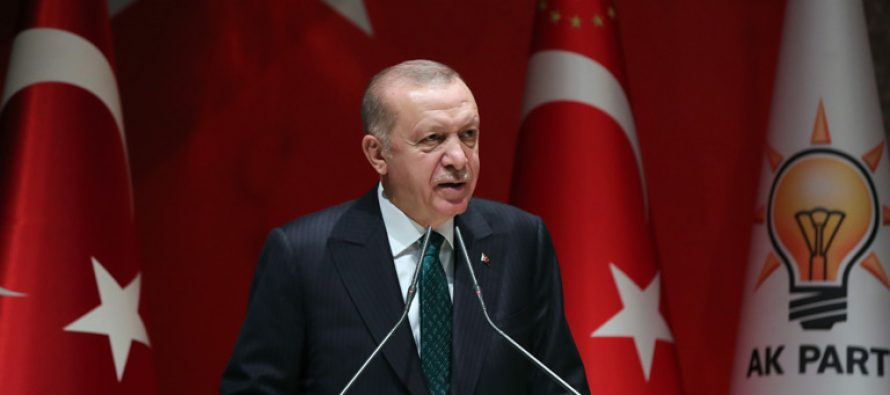 """Cumhurbaşkanı Erdoğan,""""Ekonomide yatırım, üretim, istihdam ve ihracat temelinde ülkemizi büyütme kararlılığıyla ilerliyoruz"""""""
