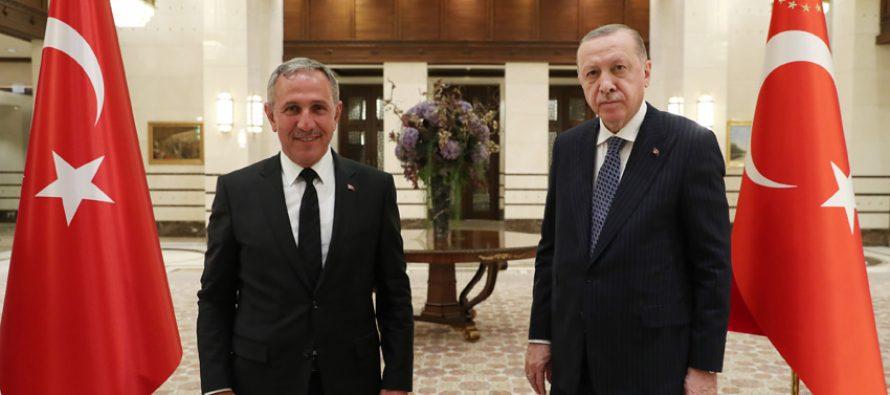 Cumhurbaşkanı Erdoğan, Avrupa'daki bazı Türk sivil toplum kuruluşu temsilcilerini kabul etti