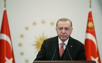 """Cumhurbaşkanı Erdoğan """"Balkanların barış, huzur, istikrar ve kalkınması için çaba harcıyoruz"""""""