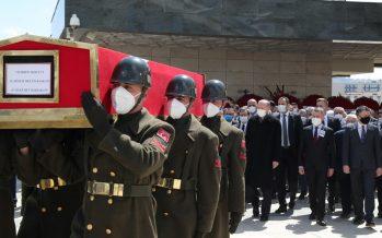 Cumhurbaşkanı Erdoğan, eski TBMM Başkanı ve Başbakan Akbulut'un cenaze törenine katıldı