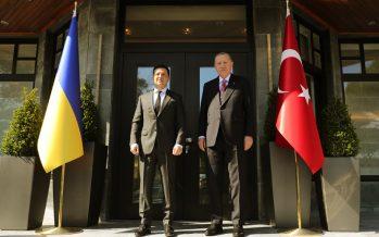 Cumhurbaşkanı Erdoğan, Ukrayna Devlet Başkanı Zelenskiy ile bir araya geldi