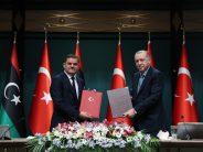 """Cumhurbaşkanı Erdoğan, """"Libya'nın egemenliğinin, toprak bütünlüğünün ve siyasi birliğinin korunması öncelikli hedefimizdir"""""""