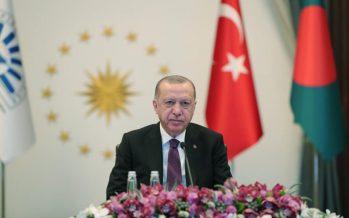 """Cumhurbaşkanı Erdoğan, """"Güçlü ve sürdürülebilir büyüme oranları için yüksek teknolojiye dayalı, katma değeri yüksek üretime ağırlık vermek mecburiyetindeyiz"""""""