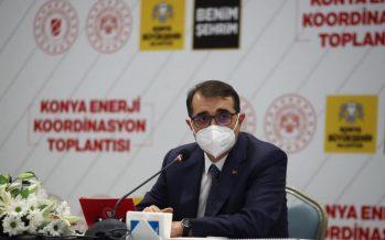 """Enerji ve Tabii Kaynaklar Bakanı Fatih Dönmez, """"2 yıl içerisinde 1000 megavatlık kurulu güce ulaşmayı hedefliyoruz"""""""