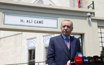 """Cumhurbaşkanı Erdoğan,""""Milletin genelinin kabul edebileceği bir yeni anayasayı çıkartalım istiyoruz"""""""