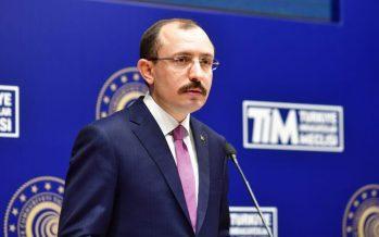Ticaret Bakanı Mehmet Muş,Nisan ayı dış ticaret rakamlarını açıkladı