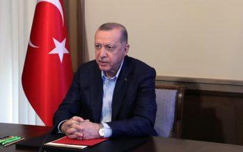 """Cumhurbaşkanı Erdoğan,""""Pazartesi gününden itibaren kontrollü normalleşme takvimimizi uygulamaya başlıyoruz"""""""