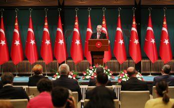 """Cumhurbaşkanı Erdoğan, """"1 Temmuz itibarıyla başlamak üzere, sokağa çıkma kısıtlamalarını tümüyle kaldırıyoruz"""""""