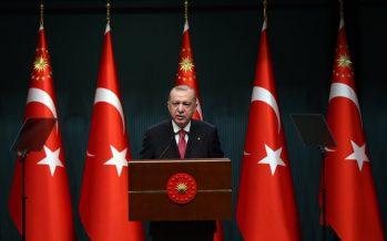 """Cumhurbaşkanı Erdoğan, """"Türkiye, müttefikleriyle iş birliği içinde küresel barış ve istikrara yardımcı olmayı sürdürecektir"""""""