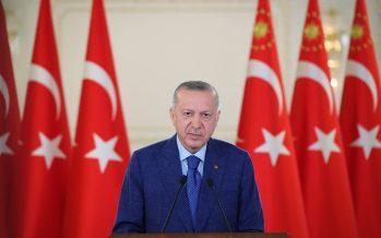 Cumhurbaşkanı Erdoğan, Kilis Yukarı Afrin Barajı ve İçme Suyu İsale Hattı Açılış Töreni'nde konuştu