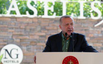 """Cumhurbaşkanı Erdoğan,""""Türkiye olarak turizm pastasından çok daha büyük bir payı almayı hedefliyoruz"""""""
