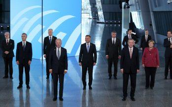 Cumhurbaşkanı Erdoğan, NATO Liderler Zirvesi ana oturumuna katıldı