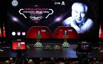 Cumhurbaşkanı Erdoğan, Cengiz Aytmatov Uluslararası 4. Issık-Göl Forumu'na katıldı