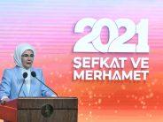 """Emine Erdoğan, """"Merhametin Dili Kuş Dili Vakıf Haftası Toplantısı""""na katıldı"""
