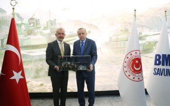 Cumhurbaşkanı Erdoğan, Arifiye 1. Ana Bakım Fabrika Müdürlüğü'nü ziyaret etti