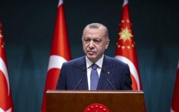 """Cumhurbaşkanı Erdoğan, """"Yıl sonunda tarihimizde ilk defa 200 milyar doların üzerinde bir ihracata imza atacağız"""""""