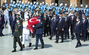 30 Ağustos Zafer Bayramı : Cumhurbaşkanı Erdoğan, Anıtkabir'de düzenlenen törene katıldı