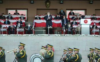 """Cumhurbaşkanı Erdoğan, """"Artık çok daha güçlü, kabiliyetli ve donanımlı bir askerî eğitim-öğretim sistemine sahibiz"""""""