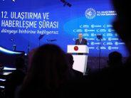 Cumhurbaşkanı Erdoğan, 12. Ulaştırma ve Haberleşme Şurası'nda konuştu